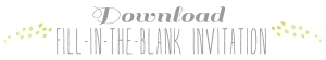 download fill blank invitation