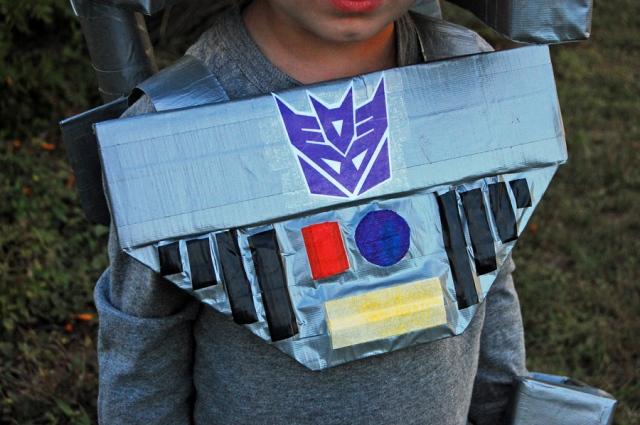 transformers chest piece