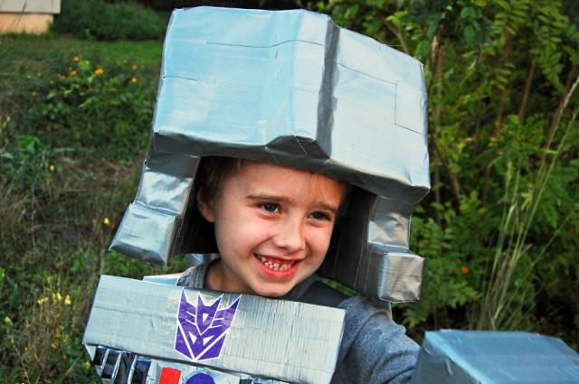 Megatron helmet